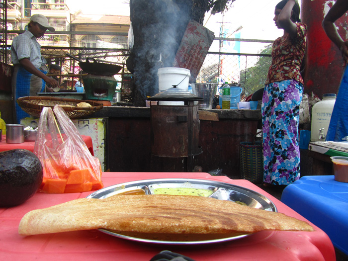5514508998 15e5be7ba7 o Mama Dosa   A Meal Fired on the Streets of Burma