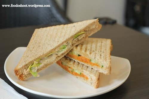 Triangle Toasties: Otah Japanese Cucumber & Tuna Avocado