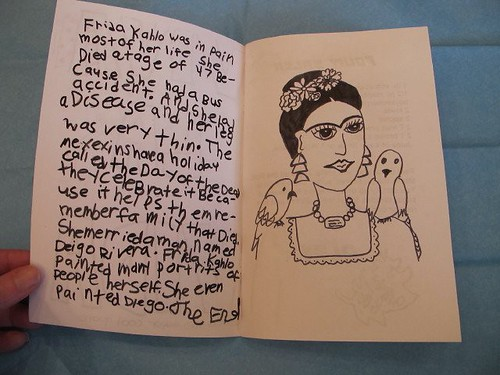 R's Frida Kahlo Party Zine - Pages 3-4