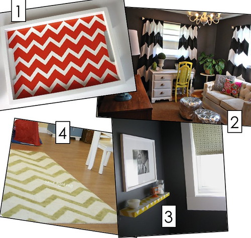DIY Chevron Pattern