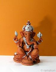 Ganesha 289 (ramakan) Tags: colors ganesha lord days 365 fibre pillayar vinayagar ganapathi
