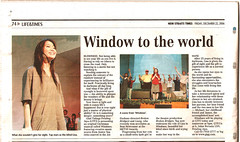 The News Straits TImes - Janice Yap stars in Windows