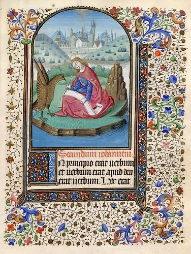 020- Libro de Horas al uso de Amiens-Francia siglo XV- HM 1126 Huntington Library