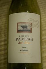 Pampas del Sur Reserve Viognier 2008