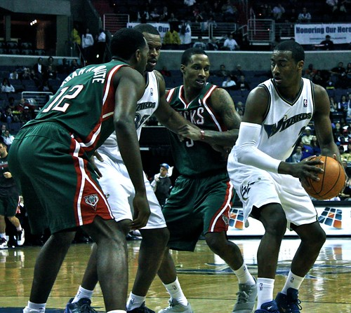 washington wizards, milwaukee bucks, truth about it, adam mcginnis, under the hoop, john wall, brandon jennings