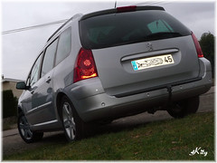Peugeot  307 SW (kity54) Tags: