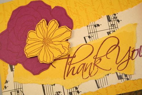 Thank you vintage floral 2