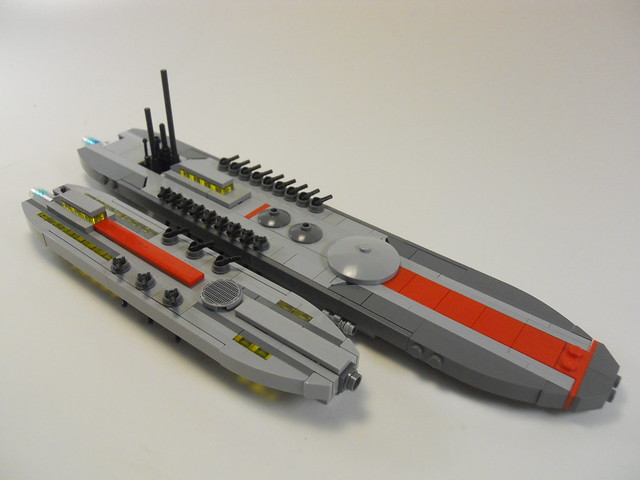 UNEN Decatur Battleship