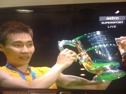 Datuk Lee Chong Wei vs Lin Dan in All-England 2011 Final