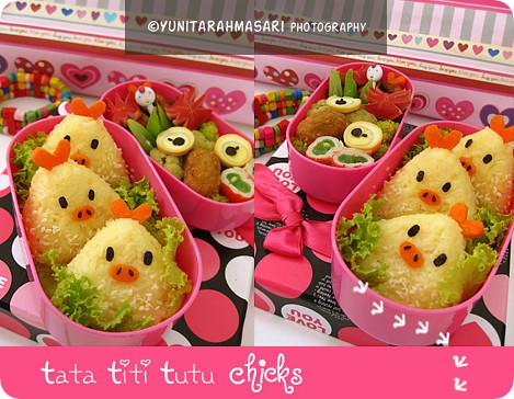Tata Titi Tutu Chicks Bento 2