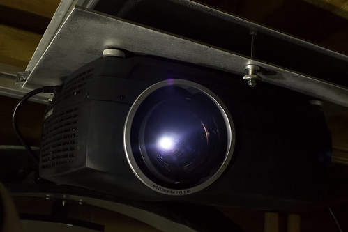 Projector for the 7 Foot Multitouch Wall