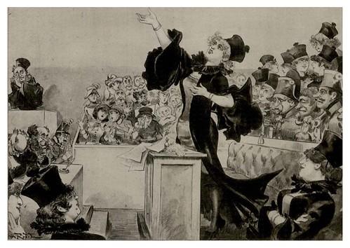 008-Las mujeres abogadas-Le Vingtième Siècle 1883- Albert Robida