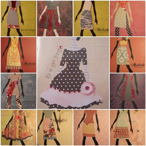 Fashion Doll Mosaic