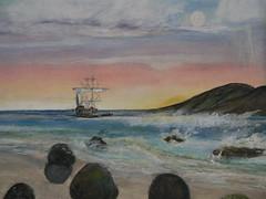 P1010610 (randi rose cone) Tags: old ship rowing ashore