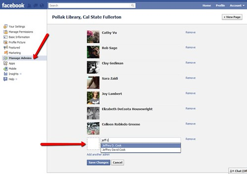 New Facebook Pages: Add admins from Friends list