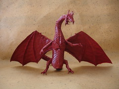 Zoanoid Dragon 2.0 (shuki.kato) Tags: monster origami dragon fantasy kato shuki guyver zoanoid