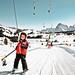 Kinderski Seiser Alm / Child on skis