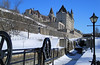 Frozen in time until the spring (SamSpade...) Tags: canon canal frozen locks chateau laurier rideau rideaucanal chateaulaurier bytown nowater 372 652 canoneos500d boatindrydock bytownlocks canonefs18200mmf3556is frozenuntilspring