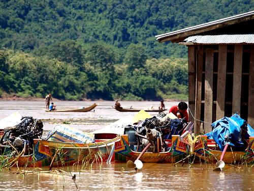 Mekong - barcas