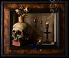 Still Life Vanitas Framed (kevsyd) Tags: stilllife skull vanitas plumbbob kevinbest dutchstilllife