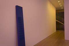 Reflection of Judd in a McCracken, under the influence of Flavin (slightheadache) Tags: newyork art gallery manhattan galleries danflavin donaldjudd 2014 johnmccracken