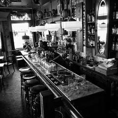 Amsterdam Bar (graemewhittle) Tags: drinking blackandwhite beer amsterdam bar