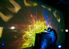 Flying Lotus (lhkwok) Tags: murmuration stl concert