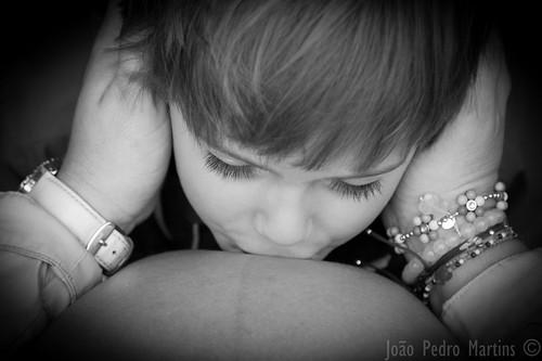 Beijo de final de gravidez
