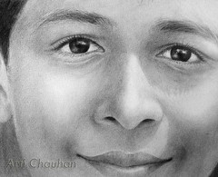 Innocence (arti_art) Tags: kids asianboy pencilart peopleportraits pencilportraits childface happyemotions peopledrawings
