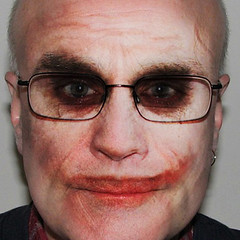 Joker (Leo Reynolds) Tags: scary joker spoof 0sec hpexif webthing photo505 xleol30x