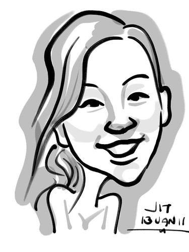 Zen Brush caricature - 4