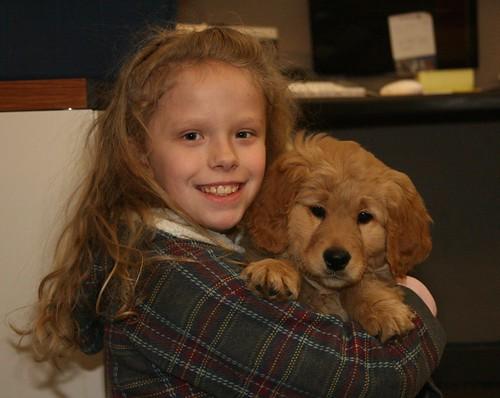 Riley and Josie Visit Orvis
