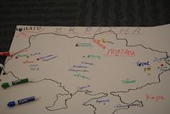 Мапа учасників