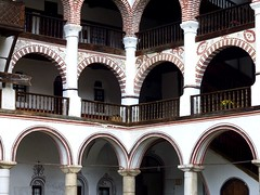 At the Rila monastery (Frans.Sellies) Tags: heritage church iglesia kirche unescoworldheritagesite unesco worldheritagesite monastery bulgaria rila orthodox glise unescoworldheritage monasterio monastere klooster kloster worldheritage weltkulturerbe whs bulgarie worldheritagelist welterbe bulgarije bulgarien  kulturerbe bulharsko bulgaristan patrimoniodelahumanidad unescowhs  patrimoinemondial  werelderfgoed vrldsarv    werelderfgoedlijst verdensarven wolrdheritagelist    ph118           p1280253