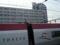 Thalys Amsterdam Centraal Station