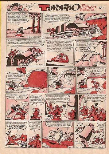 026-Topolino 1- Gran Pulgarcito nº1 1969