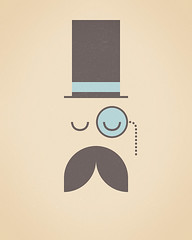 quite sophisticated (tony kuchar) Tags: illustration minimal moustache quite simple monocle sophisticated