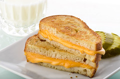 GrilledCheese (fhansenphoto) Tags: food cheese soup tomatoes comfort grilled chives