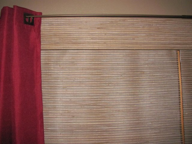Woven Wood Shades from blinds.com - color is Spice Route