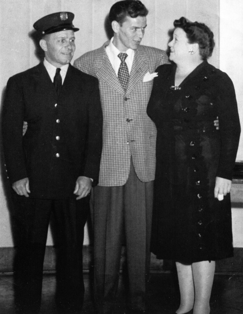 Frank Sinatra and his parents