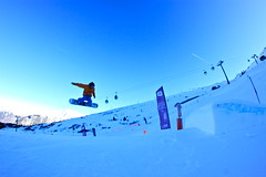 Tim 540 (Joelz0rs) Tags: snow france mountains alpes canon snowboarding joel extremesports courchevel metz45cl4 canon50d lelliott samyang8mm joellelliott