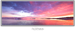 the day the sky exploded (Dan Andr Photography) Tags: winter sunset sky panorama seascape ice norway reflections landscape colours pano horizon valle tnsberg vall sigma1020mm beautifulcolours canon40d 9gnd danandrknutseny leefilter0