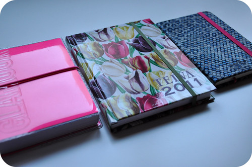My sketchbooks for 2011