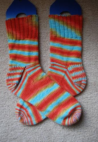FO: Crabby McCancerPants socks