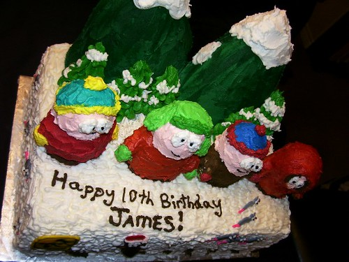 South Park Birthday Cake 1