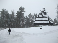 Gol stavkirke (The Gol Stave Church) (JUMBOROIS) Tags: travel snow church oslo norway norge folk religion medieval noruega scandinavian norsk 13thcentury norskfolkemuseum bygdoy hallingdal escandinavia norwegianmuseumofculturalhistory golstavkirke telemarkstunet tbygdyroyalestate societyforthepreservationofancientnorwegianmonuments reidarkjellberg