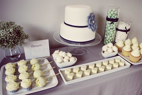 wedding dessert table 5