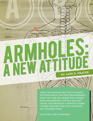 Armholes come into the light