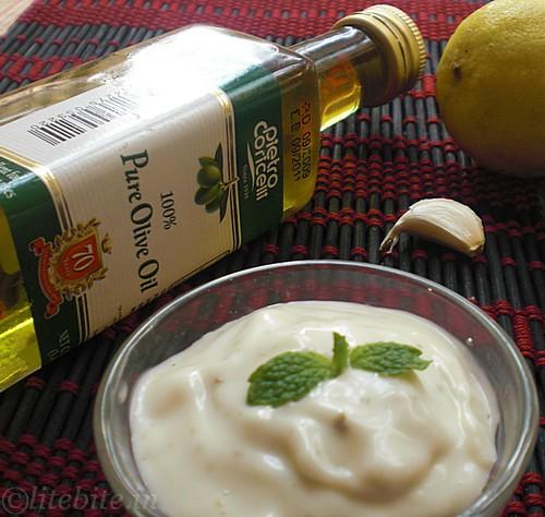 Eggless Yogurt Mayonnaise