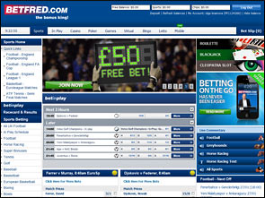 BetFred Sportsbook Home